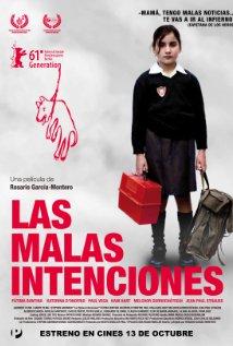 Las malas intenciones (2011) cover