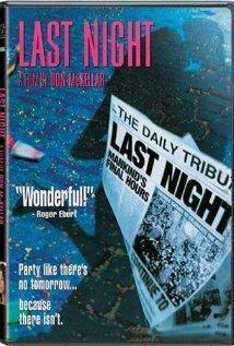 Last Night (1998) cover