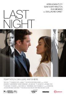 Last Night (2010) cover