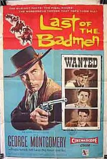 Last of the Badmen (1957) cover