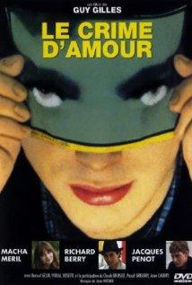 Le crime d'amour (1982) cover