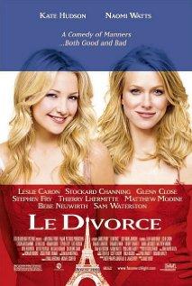 Le divorce (2003) cover