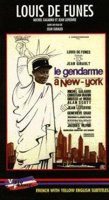 Le gendarme à New York (1965) cover