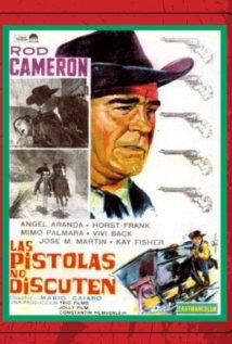 Le pistole non discutono (1964) cover