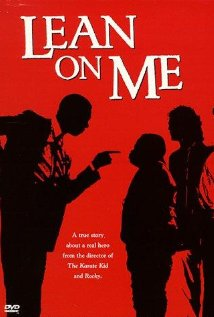 Lean on Me 1989 poster