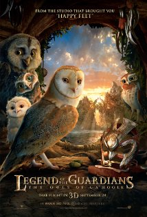 Legend of the Guardians: The Owls of Ga'Hoole (2010) cover