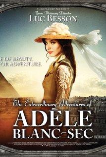 Les aventures extraordinaires d'Adèle Blanc-Sec (2010) cover