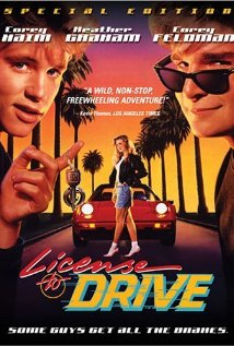 License to Drive (1988) cover