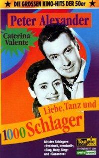 Liebe, Tanz und 1000 Schlager (1955) cover