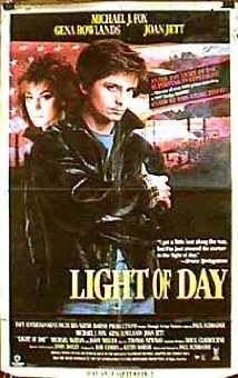 Light of Day 1987 poster