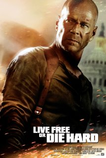 Live Free or Die Hard 2007 poster