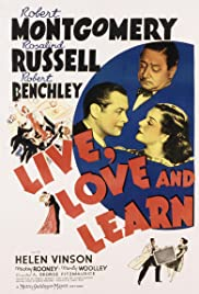 Live, Love and Learn (1937) cover