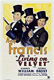 Living on Velvet 1935 poster