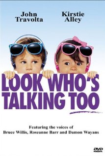 Look Who's Talking Too (1990) cover