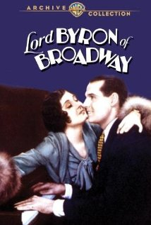 Lord Byron of Broadway (1930) cover