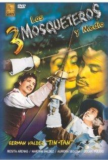 Los tres mosqueteros y medio (1957) cover