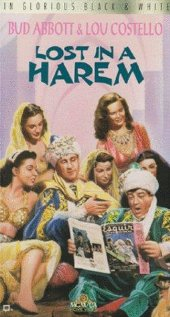 Lost in a Harem 1944 poster