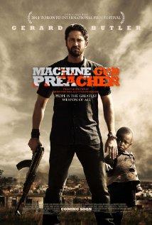 Machine Gun Preacher (2011) cover