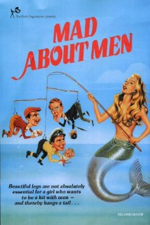 Mad About Men 1954 poster