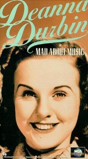 Mad About Music 1938 poster