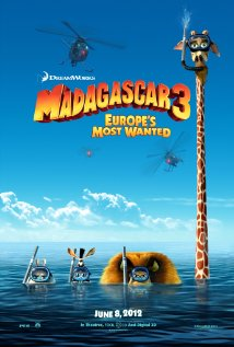 Madagascar 3: Europe's Most Wanted 2012 poster