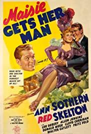Maisie Gets Her Man 1942 poster