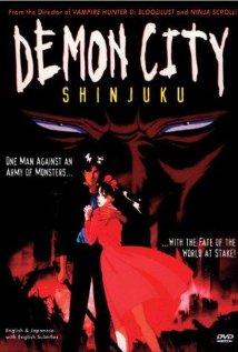 Makaitoshi Shinjuku (1988) cover