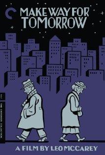 Make Way for Tomorrow 1937 poster