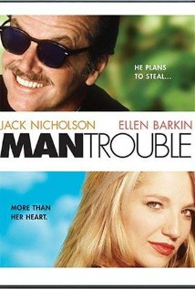 Man Trouble 1992 poster