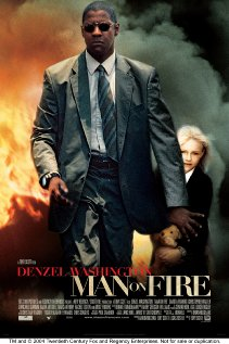 Man on Fire (2004) cover