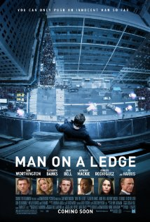 Man on a Ledge (2012) cover