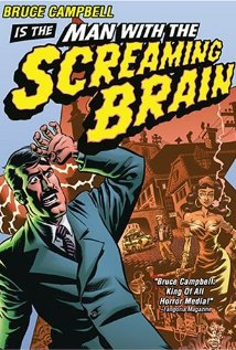 Man with the Screaming Brain (2005) cover