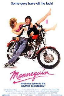 Mannequin 1987 poster