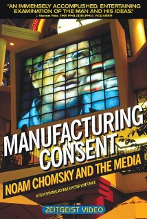 Manufacturing Consent: Noam Chomsky and the Media (1992) cover