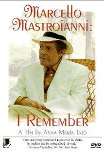 Marcello Mastroianni: mi ricordo, sì, io mi ricordo 1997 poster