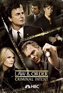 Law & Order: Criminal Intent 2001 poster