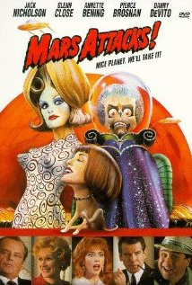Mars Attacks! (1996) cover