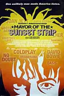 Mayor of the Sunset Strip (2003) cover