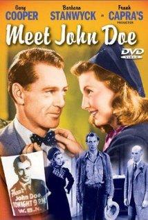 Meet John Doe 1941 poster