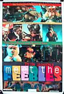 Meet the Feebles (1989) cover