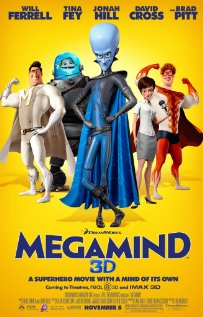 Megamind (2010) cover
