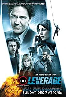 Leverage (2008) cover