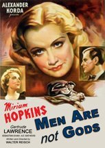 Men Are Not Gods (1936) cover