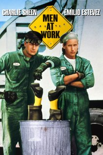 Men at Work 1990 poster