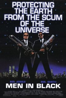 Men in Black (1997) cover