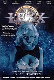 Lexx 1997 poster