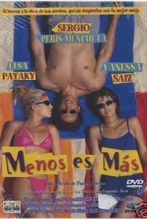 Menos es más (2000) cover