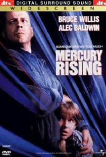 Mercury Rising (1998) cover