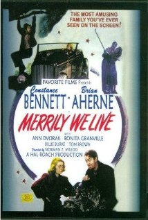 Merrily We Live (1938) cover