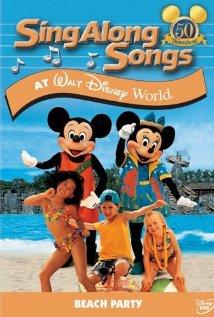 Mickey's Fun Songs: Beach Party at Walt Disney World (1995) cover